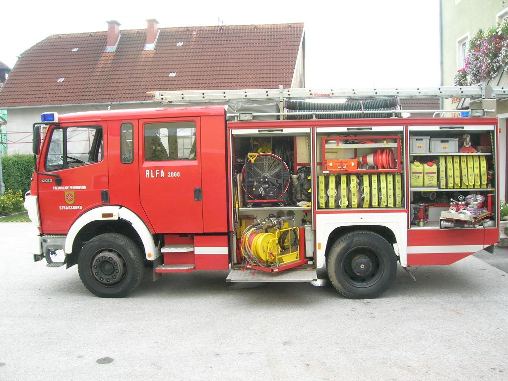 RLFA 2000 - Rüstlöschfahrzeug